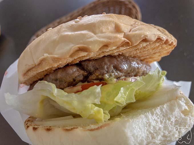 達楽早午餐|超厚牛肉起司漢堡の拡大写真