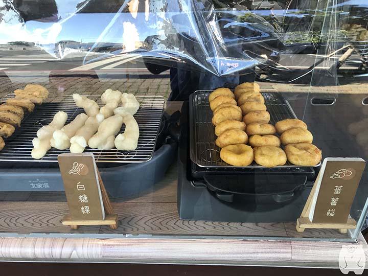 阿田番薯椪|右に番薯椪