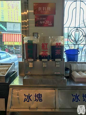 周氏蝦捲|飲み物コーナー