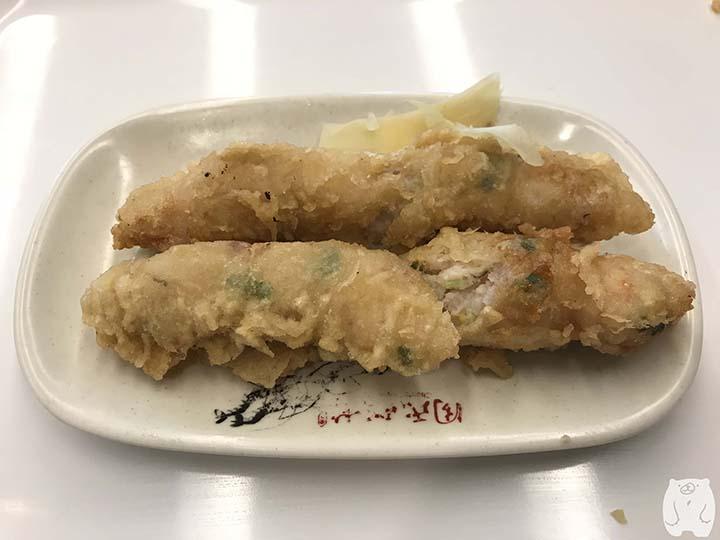 台南グルメの蝦捲