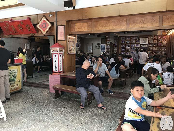 同記安平豆花|店内の様子