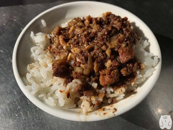文章牛肉湯|牛肉燥飯:20元