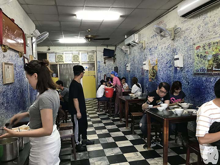 文章牛肉湯|店内の飲食スペース