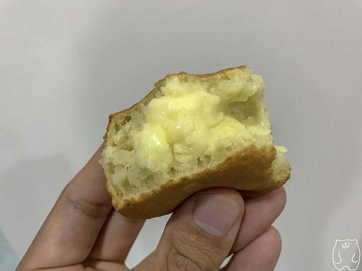 阿桃紅豆餅|奶油餅の中身