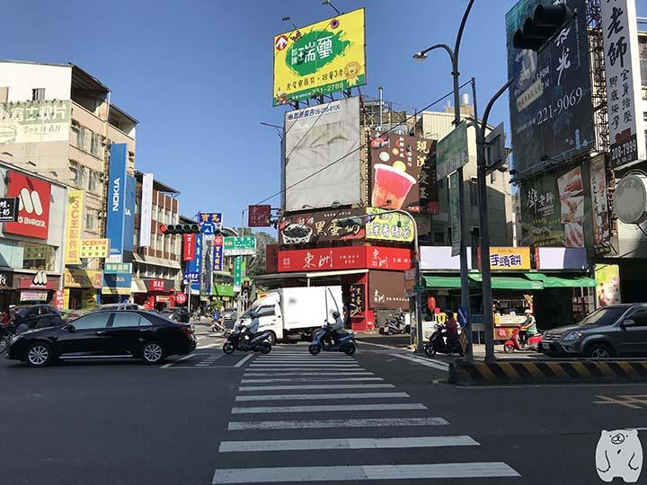 東洲黑糖奶舖の周辺