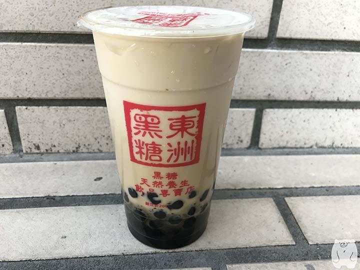 東洲黑糖奶舖|黑蛋奶:50元