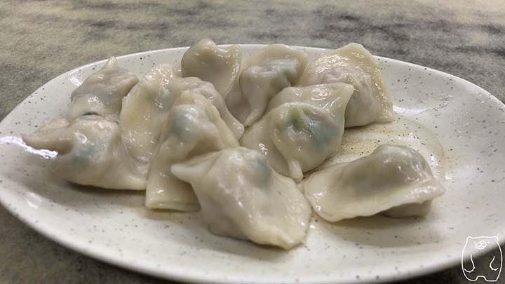 二五巴 水餃蒸餃|豚肉水餃子