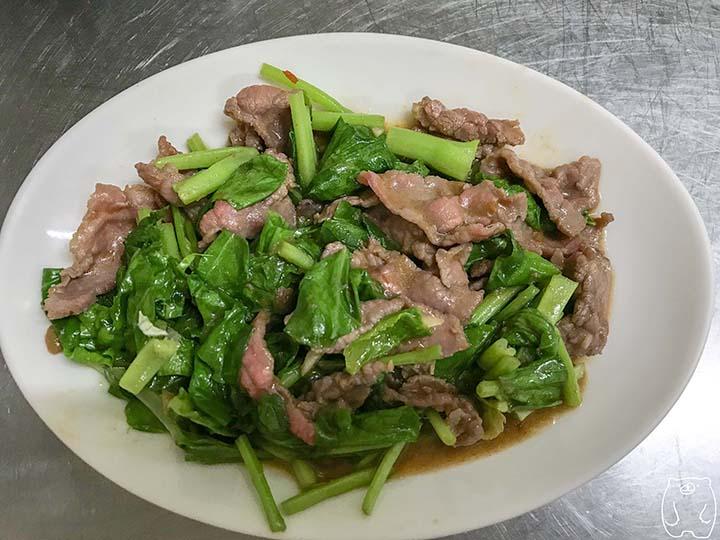 新鮮牛肉湯|炒牛肉