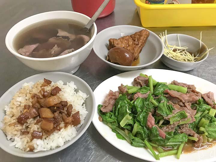 新鮮牛肉湯|注文した料理