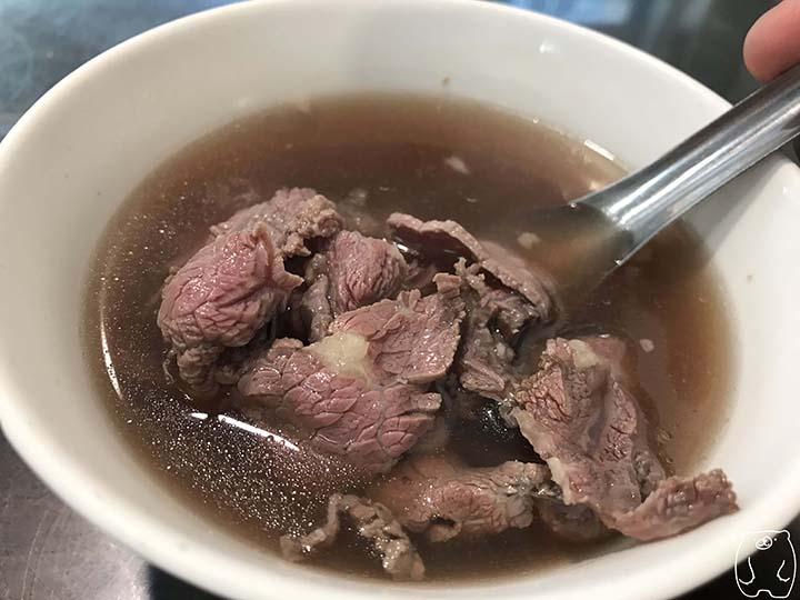 億哥牛肉湯 牛肉湯