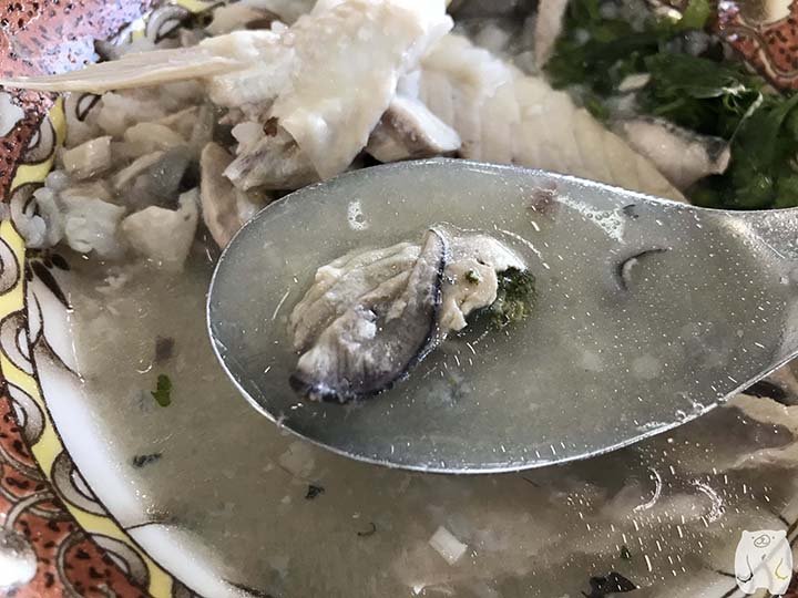 阿憨鹹粥|牡蠣