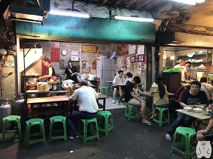 阿江炒鱔魚|お店の雰囲気