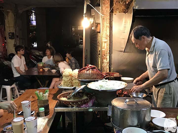 阿江炒鱔魚|調理風景