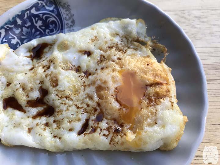 集品蝦仁飯|荷包蛋は半熟
