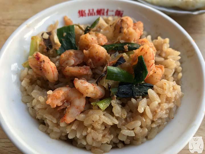 台南グルメの蝦仁飯