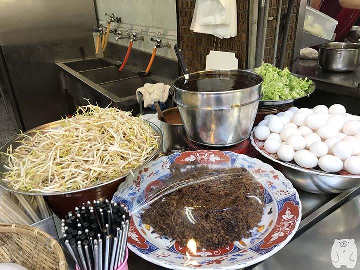 石精臼蚵仔煎|調理材料