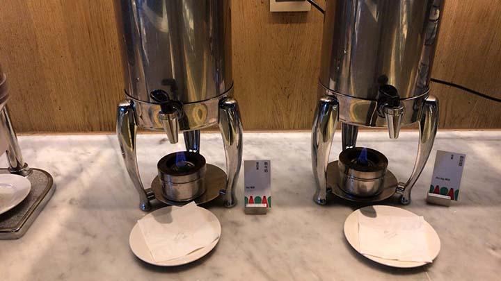 甘粹レストラン|ホットミルクと温かい豆漿
