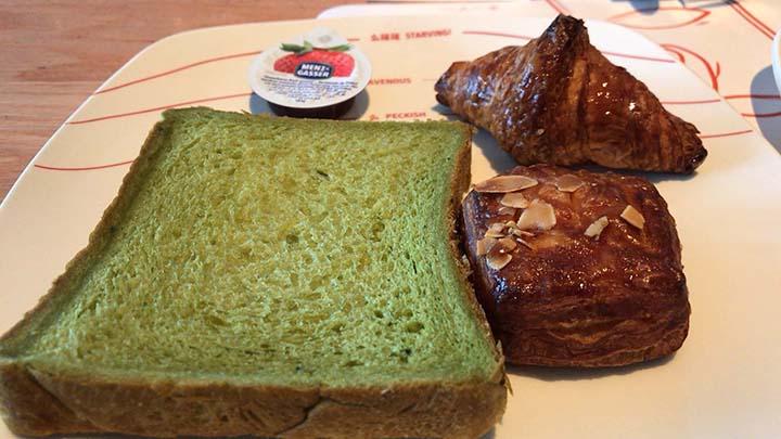 甘粹レストラン|食べた料理その1|パン
