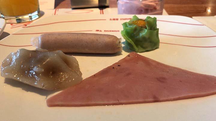 甘粹レストラン|食べた料理その3(點心)