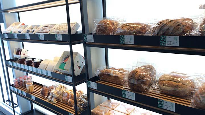 回甘咖啡で販売されているパン