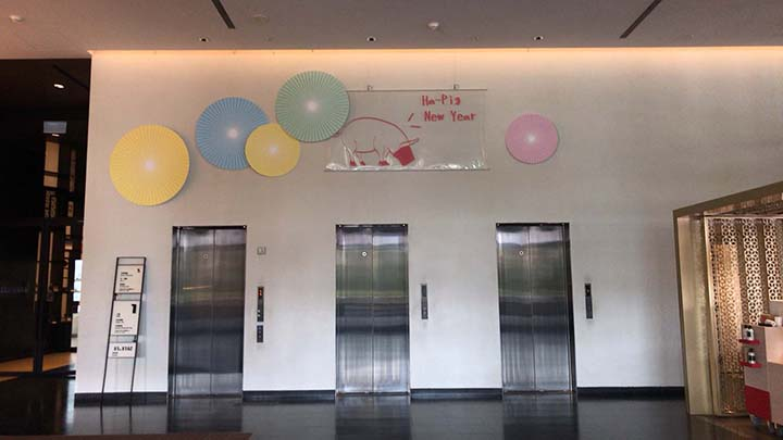 台南老爺行旅(ザ・プレイス 台南)|エレベーター