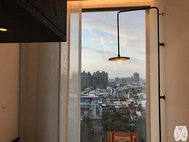 台南老爺行旅(ザ・プレイス 台南)|窓からの風景