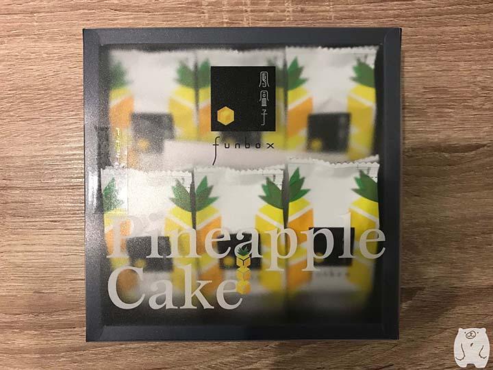 鳳盒子funbox|鳳梨酥6個入り:270元