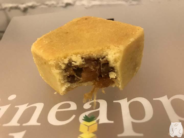 鳳盒子funboxのパイナップルケーキの中身