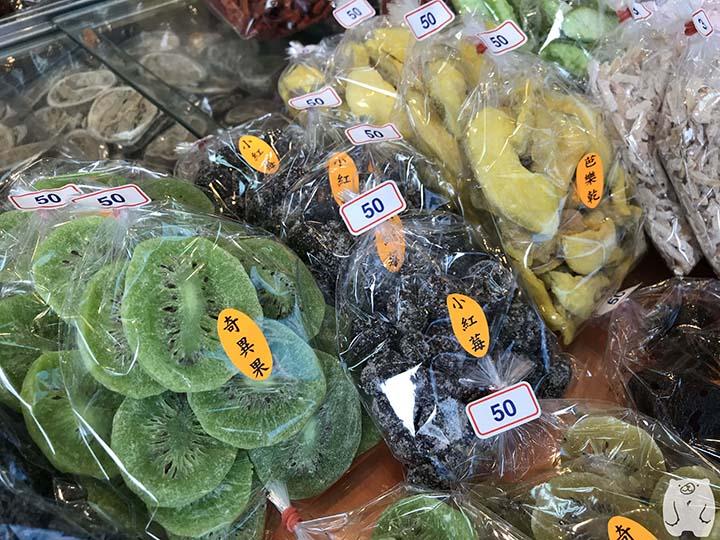 美勝珍蜜餞|キウイフルーツやグアバ