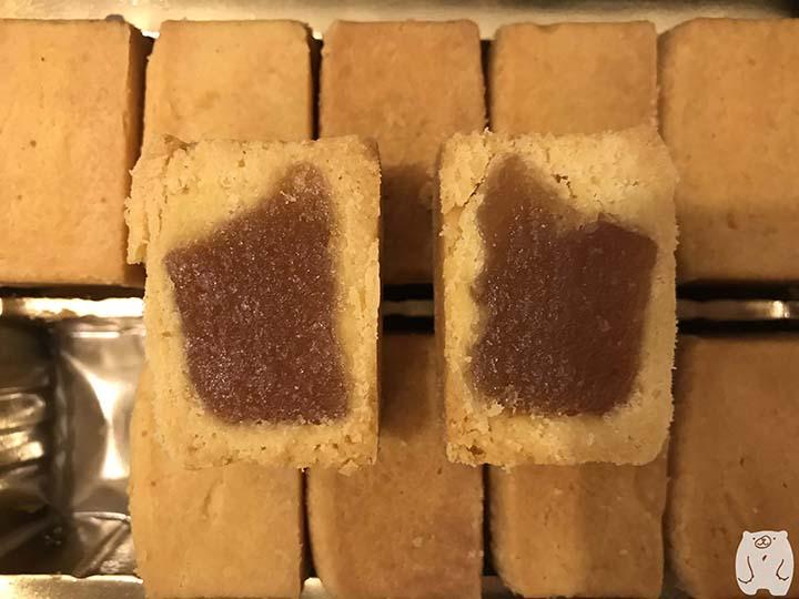 邱惠美鳳梨酥|パイナップルケーキの餡