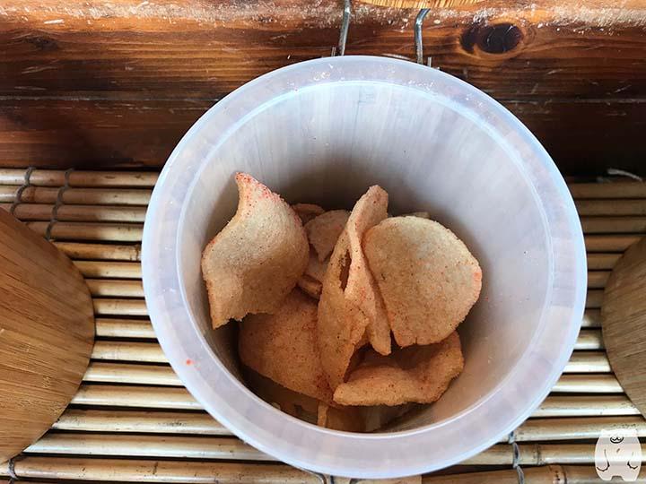 蝦米工坊&河童仙菓|梅味のエビせんべい