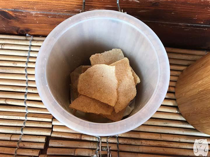 蝦米工坊&河童仙菓|わさび味のエビせんべい
