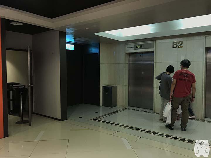 新光三越 台南中山店のフードコート奥