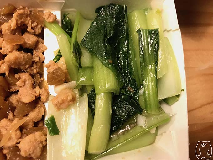 正忠排骨飯|副菜