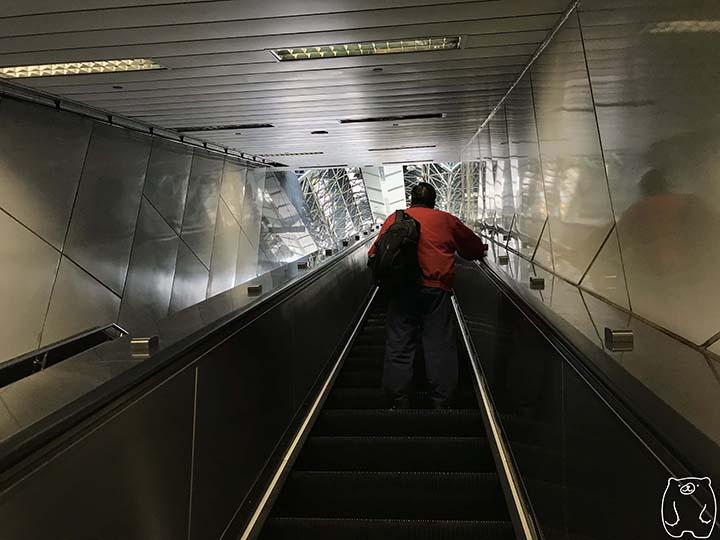 ミシェールヘアサロンへの行き方|後驛駅から出る