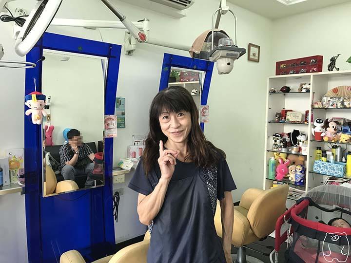 ミシェールヘアサロン|オーナーの今関喜久子さん