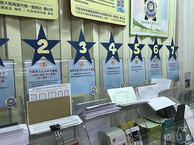 台湾(高雄)の統一番号の申請手順3|統一證號申請表を入手する