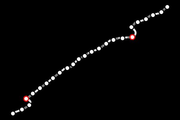 台湾鉄道(台鉄)|花蓮の路線図