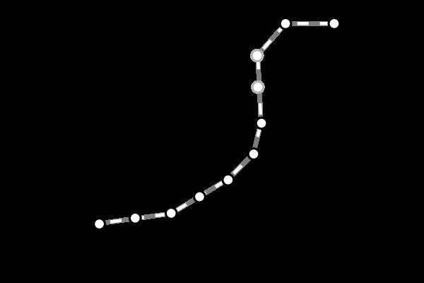 台湾鉄道(台鉄)|平溪/深澳線の路線図