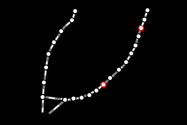 台湾鉄道(台鉄)|台中の路線図