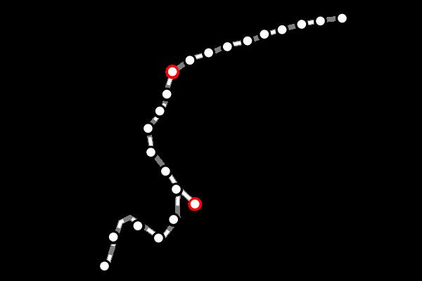 台湾鉄道(台鉄)|宜蘭の路線図