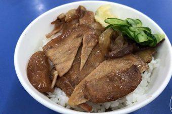 【台南・東区】 高雄老周焼肉飯は一人でも気軽に焼肉飯を食べられるお店