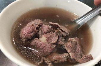 【台南東区】億哥牛肉湯|牛肉湯を気軽に食べたいならここ!24時間営業しています