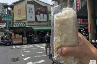 金得春捲|地元の人に愛される台南國華街60年の老舗の巨大春巻き